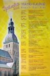 Афиша концерта 28 сентября 2012 года в Рижском кафедральном Домском соборе (Латвия) (латыш. Rīgas Doms, нем. Dom zu Riga). Rīgas Domā Koncert, Lana Dumbadze