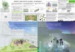 Проект озеленение кровли МАРХи с созданием открытого амфитеатра-аудитории (вариант, отосланный на конкурс в Испанию). 2012