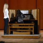 Концерт в Большом концертном зале РАМ им. Гнесиных (06.11.2010). Электронный орган