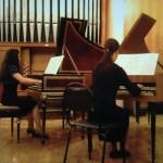 Концерт в РАМ им. Гнесиных (27.11.2010). Два клавесина