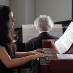 В дуэте с заслуженным артистом России - Александром Майкапаром. Орган и фортепьяно