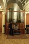 Концерт на механическом английском духовом органе «Henry Jones» (1871) в 75 классе РАМ им. Гнесиных