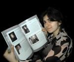 После концерта, посвящённого 200-летию Ференца Листа в Венгерском культурном центре (18 ноября 2012). В руках книга с информацией об участниках и своим портретом