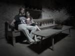 «Сфумато кахетинского дома». С женой Ланочкой, Грузия 2011