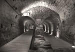 Акко. Западная Галилея. Подземный туннель Тамплиеров.