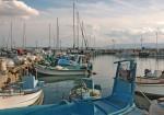 Акко. Западная Галилея. Яхты в порту.