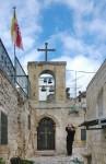 Иерусалим. Греческий православный монастырь во имя святого Ефимия. Звонарь.