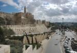 Иерусалим. Старый город. Крепостные стены.