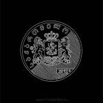 015 Современная грузинская монета номиналом 1 лари. 2012. Михаил Тренихин. Графическая серия «Грузинский дневник»