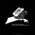 023 Коджори. Памятник юнкерам, павшим в боях с большевиками в 1921 году. 2012. Михаил Тренихин. Графическая серия «Грузинский дневник»