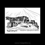 034 Хевсурский город-крепость Шатили. 2012