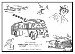 Лиза Щеголькова. Сказка про троллейбус 12К, который научился летать. Иллюстрации — Михаил Тренихин