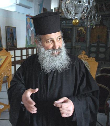 Приезд в Одессу протоиерея Романа из Назарета