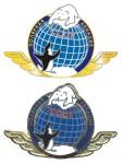Памятный знак «Полярная авиация СССР» Латунь, эмали. 2010. Тираж 150 экз. Изготовлен в Германии