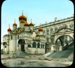 Branson DeCou. Благовещенский собор Кремля и Красное крыльцо. 1931