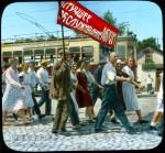 Branson DeCou. Демонстрация «Лучшее обслуживание - рабочим!». 1931