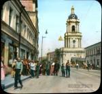 Branson DeCou. Пятницкая улица у церкви Параскевы Пятницы. 1931