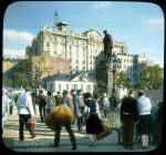 Branson DeCou. Страстная площадь. Памятник Пушкину. 1931