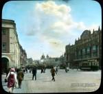 Branson DeCou. Театральный проезд в сторону Лубянской площади. 1931