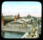 Branson DeCou. Вид на Москворецкую улицу и Васильевский спуск от Большого Москворецкого моста. 1931