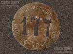 Должностной знак Московское губернское земство № 177