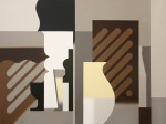 Александр Янушкевич. Картина из серии «Графопись». Холст, масло. 60 х 80. 2009-2010.