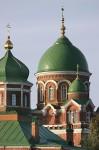 Спасо-Бородинский монастырь. Собор Владимирской иконы Божией Матери. Деталь