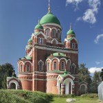 Спасо-Бородинский монастырь. Собор Владимирской иконы Божией Матери