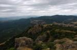 «Грузинские горы». Вид из Коджорской крепости. Грузия. 2011