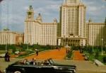 Jacques Dupaquier. Главное здание Московского государственного университета. 1956