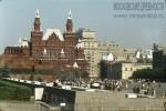 Jacques Dupaquier. Красная площадь. Вид на Исторический музей и гостиницу Москва. 1964