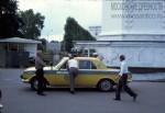 Jacques Dupaquier. Милицейская «Волга» на ВДНХ. 1975