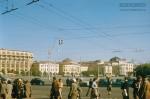 Jacques Dupaquier. Площадь Революции в Москве. 1956
