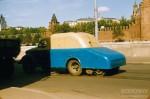 Jacques Dupaquier. Уборочная машина напротив Кремля в Москве. 1956