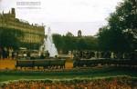 Jacques Dupaquier. В Московском парке перед Большим театром. 1956