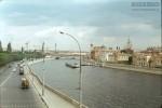 Jacques Dupaquier. Вид на набережную Москва-реки с Большого Каменного моста. 1964