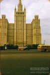 Jacques Dupaquier. Жилой небоскрёб в Москве, на площади Баррикадная. 1956
