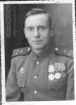 Кавалер Ордена Отечественной войны, двух медалей «За отвагу», медали «За оборону Москвы» старший лейтенант советской армии Воробьев Алексей Васильевич