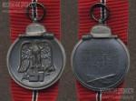 Медаль «За зимнюю кампанию на Востоке 1941/42». Аверс, реверс