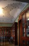 Особняк Рябушинского, библиотека, лепной плафон