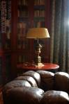 Особняк Рябушинского, настольная лампа в гостиной