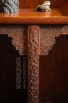 Особняк Рябушинского, восточный кабинет, фрагмент резной ножки восточного столика