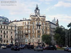 Бывший доходный дом Страхового общества «Россия» на Сретенском бульваре