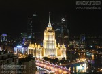 Гостиница Украина с крыши дома на Новом Арбате. Май 2011. Автор: Дмитрий Беззубцев
