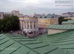 Вид на старое здание МГУ с крыши Манежа. Июнь 2011. Автор: Анатолий Круглов