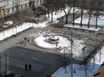 Тверская площадь напротив Дома генерал-губернатора на Тверской улице. Март 2012. Автор: Алексей Сидельников