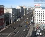 Тверская улица в сторону области. Март 2012. Автор: Алексей Сидельников