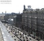 Тверская улица с видом на Кремль. Март 2012. Автор: Алексей Сидельников