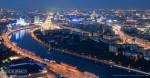 Вид с Москвы-сити, июль 2011. Автор Евгений Беззубцев