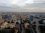 Вид с высотки на Садово-Кудринской площади. Май 2010. Автор: Дмитрий Беззубцев